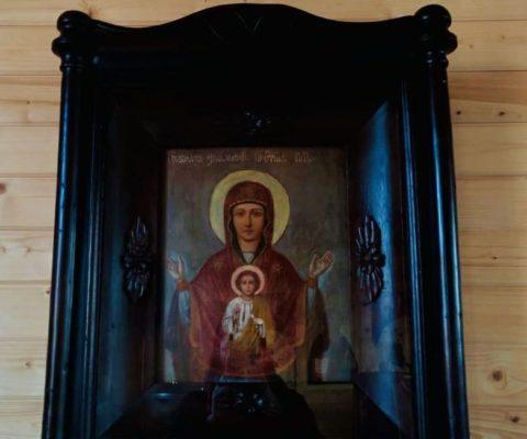 История появления в нашем храме иконы Новгородской Божией Матери «Знамение»