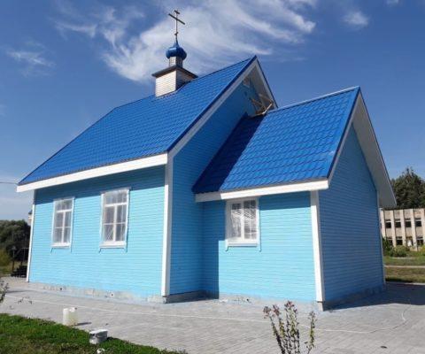 Началась покраска нашего храма