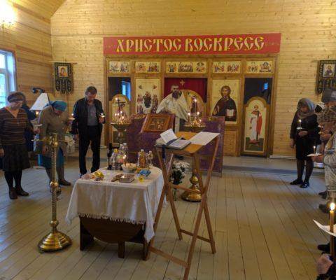 В нашем храме состоялось Таинство Соборования